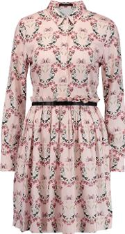 Mother Of Pearl , Hurley Printed Twill Dress Blush