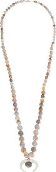 Chan Luu , Beaded Necklace Silver