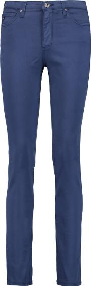 Ag Jeans , Prima Mid Rise Skinny Jeans Blue
