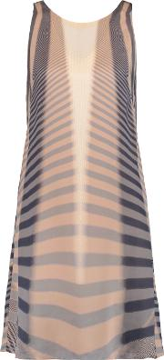 Amanda Wakeley , Beam Printed Silk Dress Multi