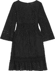 Anna Sui , Magical Mystery Lace Dress Black
