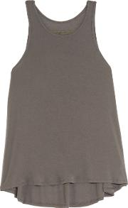 Enza Costa , Stretch Jersey Tank Gray