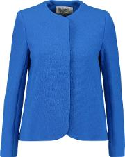 Goat , Shrimpton City Wool Jacket Cobalt Blue