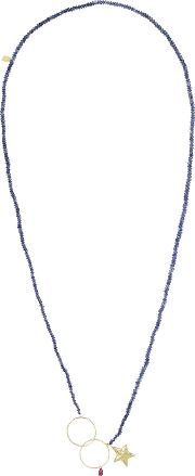 Inez And Vinoodh , Sapphire And Ruby Necklace Navy