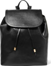 Iris And Ink , Leather Backpack Black