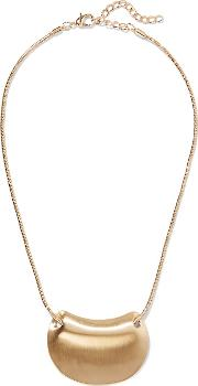 Kenneth Jay Lane , Gold Tone Necklace One Size