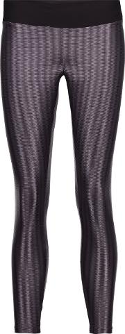 Koral , Liquid Textured Stretch Jersey Leggings Purple