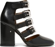 Laurence Dacade , Maja Buckled Leather Pumps Black