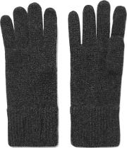 Madeleine Thompson , Cashmere Gloves Charcoal