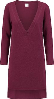 Madeleine Thompson , Cashmere Tunic Burgundy