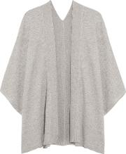 Magaschoni , Draped Cashmere Cardigan Light Gray