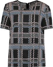 Markus Lupfer , Printed Silk Top Multi