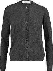 Marni , Cotton Blend Cardigan Charcoal