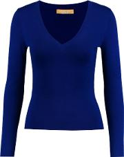 Michael Kors Collection , Cashmere Sweater Royal Blue