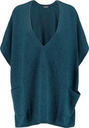 Npeal Cashmere , N.peal Cashmere Oversized Cashmere Sweater Petrol