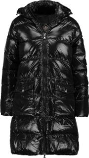 Pyrenex , Authentic Quilted Glossed Shell Down Coat Black