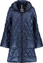 Pyrenex , Replic Quilted Shell Down Coat Storm Blue