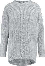 Soyer , Bliss Cashmere Blend Sweater Gray