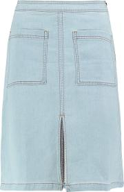 Splendid , Denim Skirt Light Denim