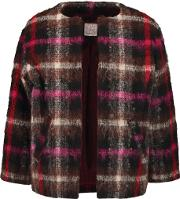 Stella Jean , Checked Boucle Jacket Multi