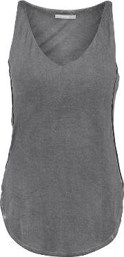 Tart Collections , Christian Stretch Modal Tank Dark Gray