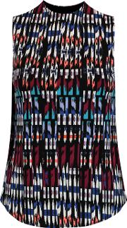Tart Collections , Printed Stretch Modal Tank Brick