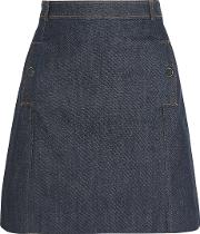 Vanessa Seward , Austin Denim Mini Skirt Indigo