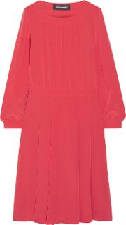 Vanessa Seward , Bale Silk Crepe De Chine Dress Pink