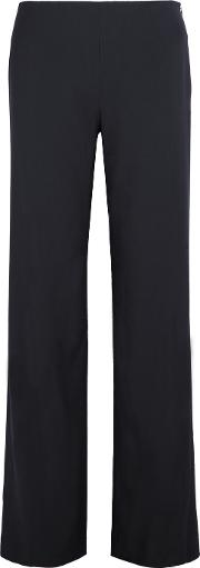 Vince , Stretch Twill Wide Leg Pants Navy