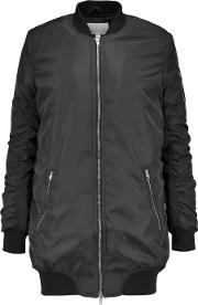 W118 By Walter Baker , Talia Quilted Shell Bomber Jacket Black