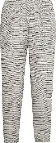 Hatch , The Market Knitted Track Pants Light Gray