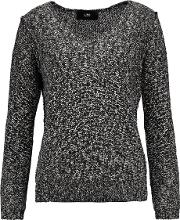 Line , Val Boucle Sweater Black