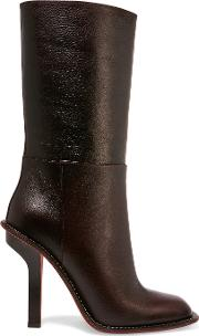 Marni , Leather Boots Burgundy
