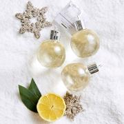 The White Company , Lime & Bay Shower Gel Bauble