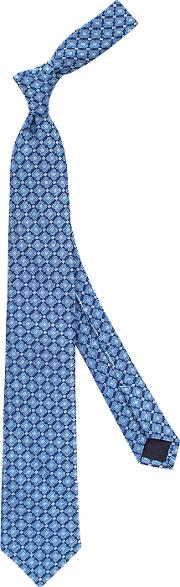 Thomas Pink , Bazley Handmade In London Woven Tie
