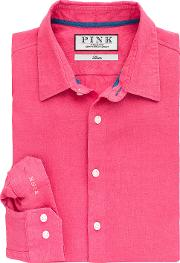 Thomas Pink , Miller Plain Classic Fit Button Cuff Shirt
