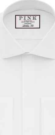 Thomas Pink , Placket Evening Athletic Fit Double Cuff Shirt