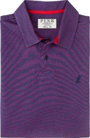 Thomas Pink , Armstrong Texture Classic Fit Polo