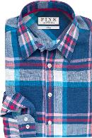 Lovell Check Classic Fit Button Cuff Shirt