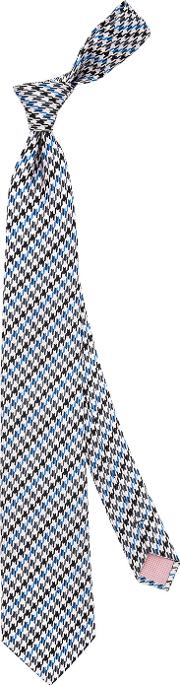 Thomas Pink , Purcell Check Woven Tie
