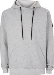 Nicce , Mens  Grey Marl Soft Touch Hoodie
