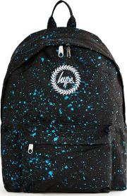 Hype , Mens  Black And Blue Speckled Backpack