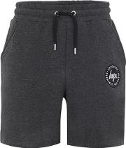 Hype , Mens Hype Charcoal Grey Jersey Shorts