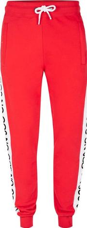 Jog On , Mens  Red Joggers
