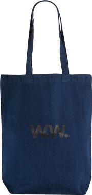 Topman , Mens Blue Wood Wood Navy Tote Bag