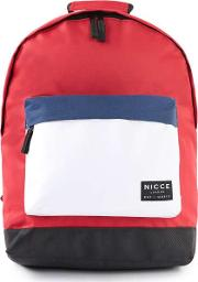 Nicce , Mens  Red White And Blue Backpack