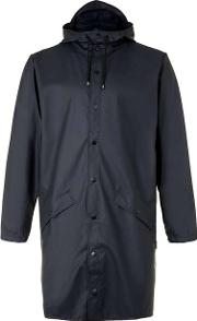 Rains , Mens  Blue Long Raincoat
