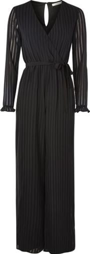 Oh My Love , Womens Stripe Wrap Jumpsuit By