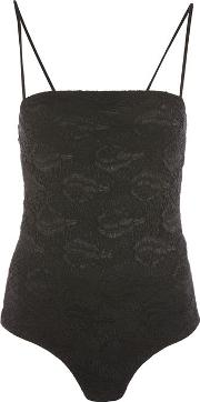 Topshop , Womens Square Neck Lace Body