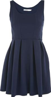 Oh My Love , Womens Textured Skater Dress By